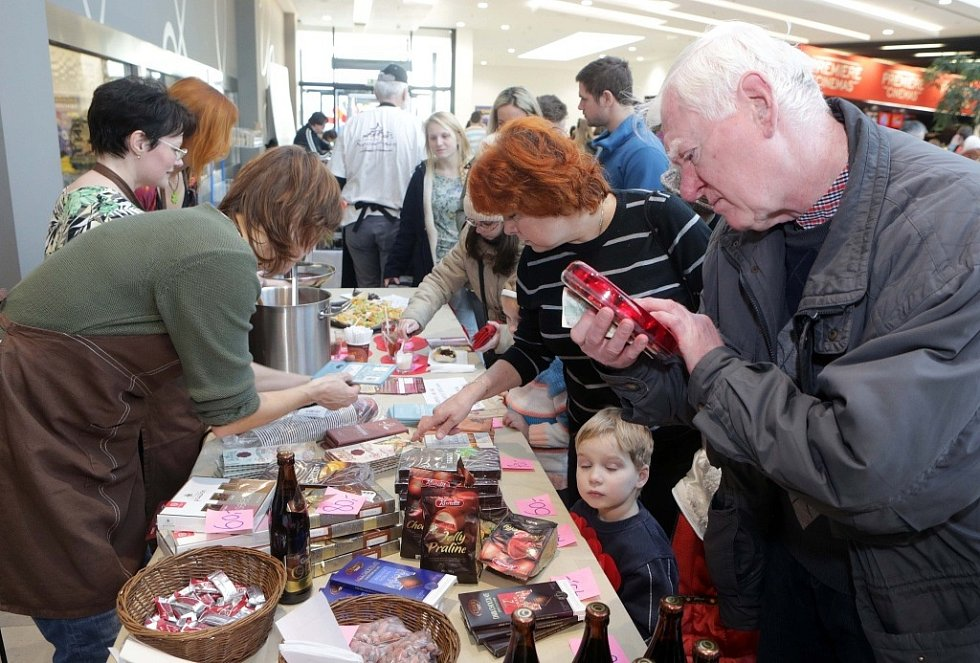 Čokoládový festival v Olomouci