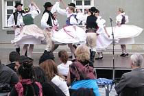 Folklórní soubor Mladá Haná z Velké Bystřice
