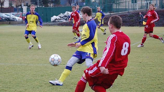 Přípravný zápas SK Sigma Olomouc B versus Zlín B.