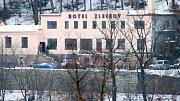 Únor 2018. Rekonstrukce v minulém století populárního hotelu Zlechov finišuje