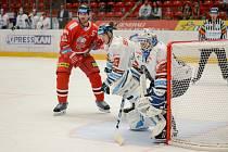 Olomoučtí hokejisté v prvním domácím zápase nové sezony prohráli s Libercem 1:4.