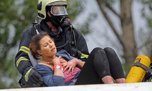 Velké mezinárodní cvičení záchranářů RAFEX 2014vPřerově