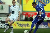 Sigma v poháru proti Baníku: Jakub Podaný (vpravo)