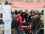 Vinné trhy v centru Olomouce