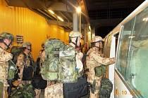 Příslušníci 1. strážní roty Bagram se již přesunuli do Afghánistánu.