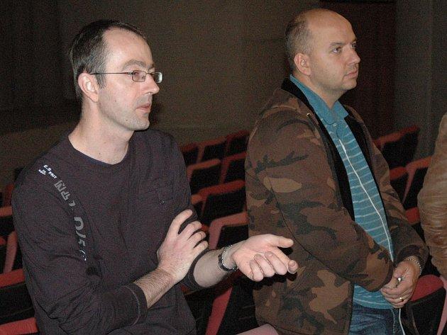 Petr Zelenka představil v Olomouci svůj nový film.