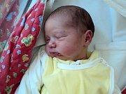 Gabriela Poliakova, Šternberk, narozena 25. června ve Šternberku, míra 48 cm, váha 2870 g