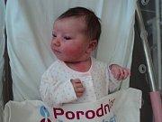 Karolína Studená, Uničov, narozena 9. července, míra 48 cm, váha 3740 g