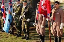 Vzpomínka na 100. výročí narození letce a válečného hrdiny Josefa Brykse v Lašťanech