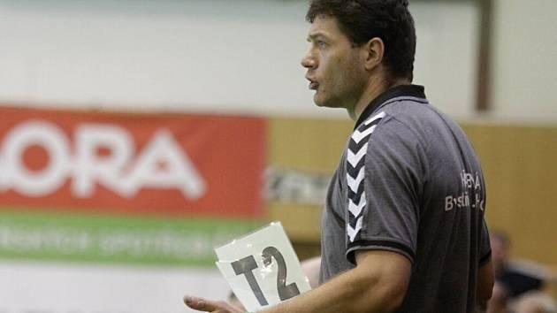 Trenér Bystřice p.H. Martin Žůrek