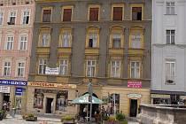 domě číslo 22 na olomouckém Dolním náměstí byl výčep ivminulých staletích.
