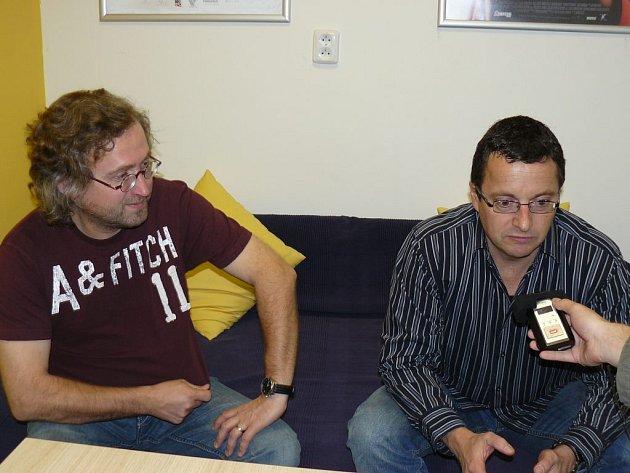 Jan Hřebejk a Michal Viewegh představili film Nestyda.