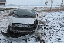 Nehoda toyoty u Duban