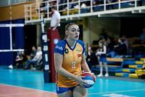 Volejbalistka Veronika Trnková ještě v dresu Olomouce.