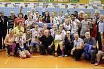 Prostějovské volejbalistky slaví devátý extraligový titul
