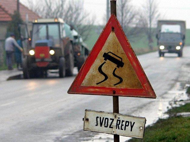 Řidiči pozor! Řepná kampaň je tu.