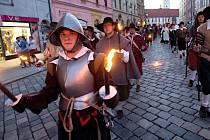Svátky města Olomouce. Průvod ke cti sv. Pavlíny