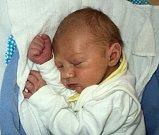 Vojtěch Stoklas, Šumperk, narozen 29. dubna ve Šternberku, míra 52 cm, váha 3500 g