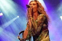 Americká zpěvačka Dana Fuchs