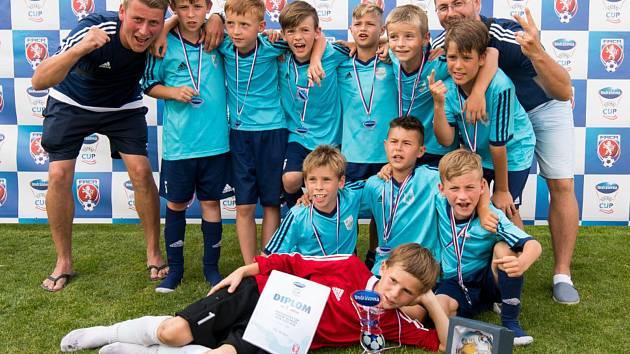 Mladí fotbalisté Medlova získali senzační stříbro