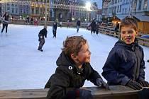 Bruslení na Dolním náměstí v Olomouci. Ilustrační foto