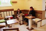 Kočičí kavárna Kocourkov v centru Olomouce