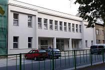 Rekonstrukce Městského klubu ve Šternberku - polovina září 2015