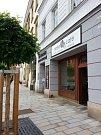 Kavárna Naše café na Dolním náměstí v Olomouci