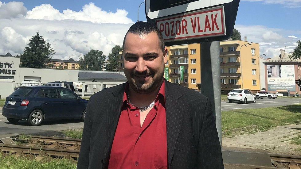 Ondřej Foral, předseda ZO Federace strojvůdců Olomouc.