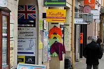 Pavelčákova ulice v centru Olomouce. Ilustrační foto
