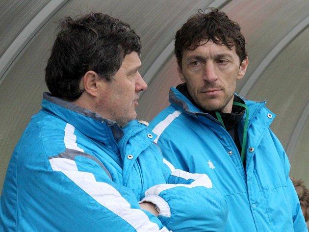 Roman Sedláček (vlevo) a Michal Kovář