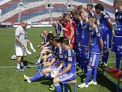 Fotbalisté Sigmy Olomouc se fotili před startem prvoligového ročníku 21015/16