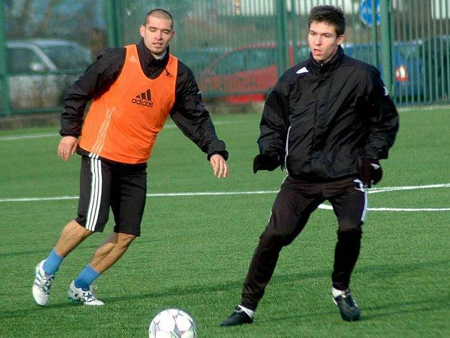 Tomáš Přikryl (vpravo)