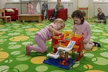 Jednotřídní mateřinka vznikla v prostorách bývalého školnického bytu na ZŠ Komenium v centru Olomouce