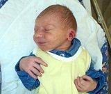 Filip Krůpa, Pňovice,  narozen 12. června ve Šternberku,  míra 54 cm, váha 3680 g