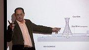 Podnikatel a investor Josef Tesařík při prezentaci plánů BEA centra