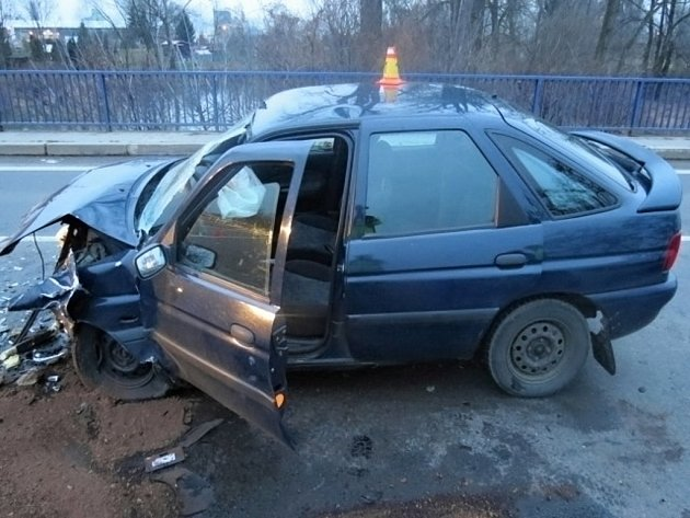 Nehoda escortu a oktávky v Holici