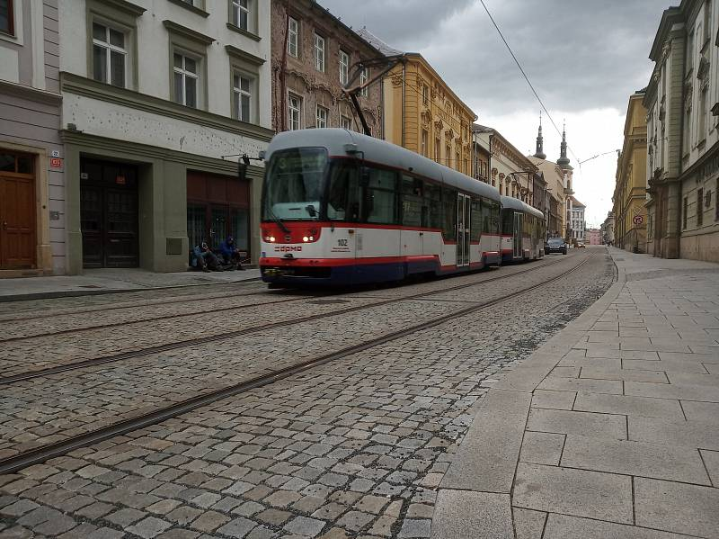Filmová místa v Olomouci. Třída 1. máje