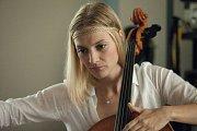 Barbora Poláková. Natáčení filmu Kvarteto v Olomouci