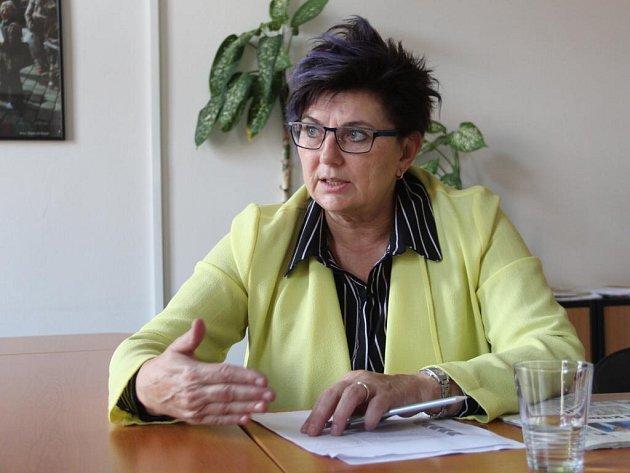 Dagmar Malotová při on-line rozhovoru se čtenáři Deníku