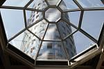 Stavba podnikatelského centra na třídě Kosmonautů