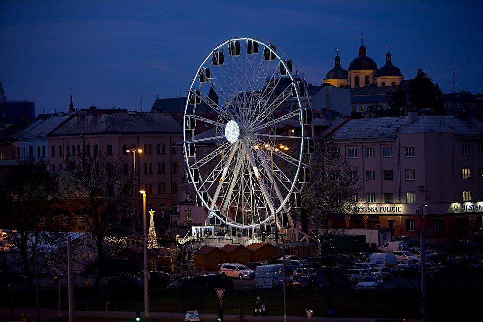 Ruské kolo v Olomouci 2.12.2019