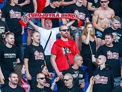 Fanoušci Zbrojovky Brno. Ilustrační foto