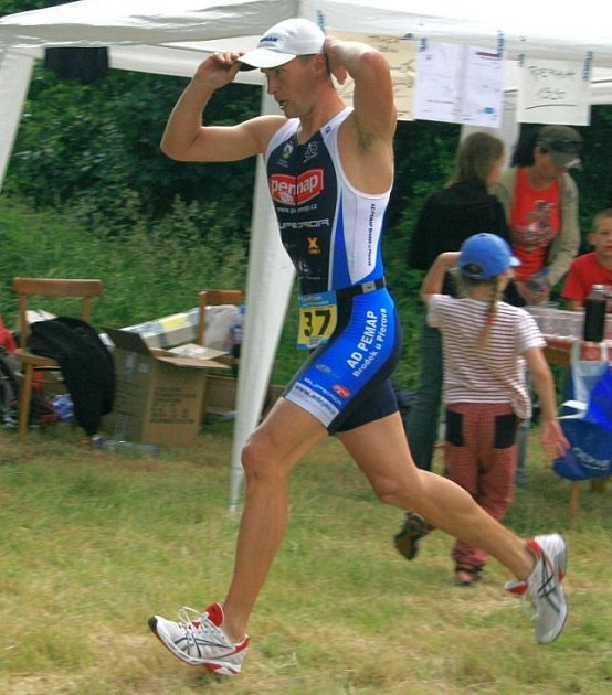 X - Triathlon v Dolním Žlebu u Šternberka
