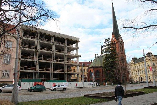 Rekonstrukce budovy Záložny Creditas na třídě Svobody vOlomouci