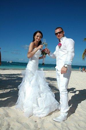 Svatba vDominikánské republice
