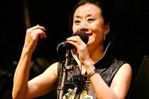 Čínská pěvkyně Feng yün-Song
