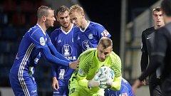 MOL CUP: Sigmy vypadla s Jabloncem, uprostřed v modrém Tomáš Chorý