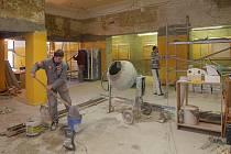 Přestavba vestibulu kina Metropol