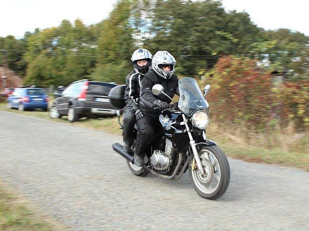 Motorkáři vKřelově